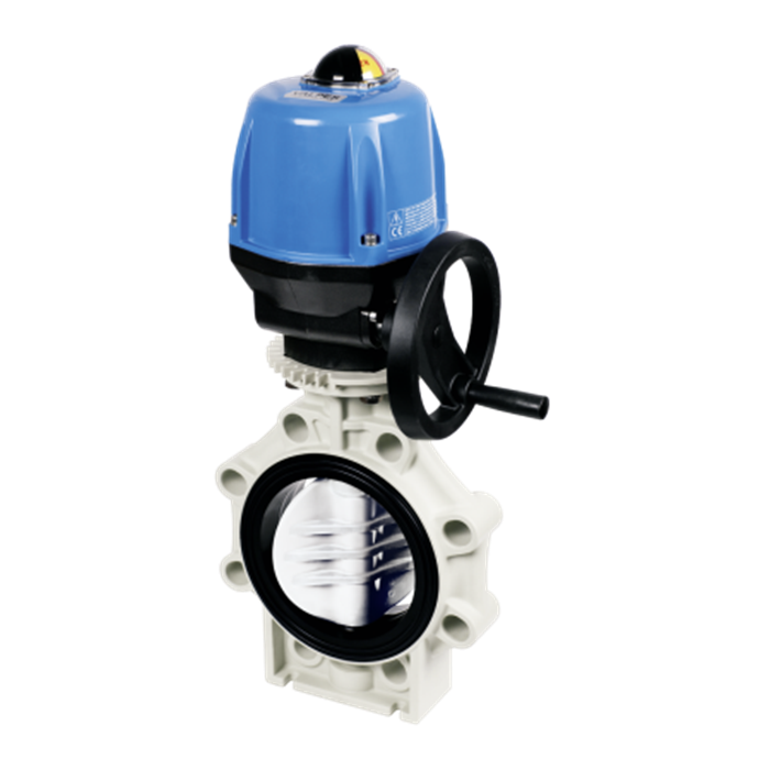 Praher Butterfly Valve K4 PVDF Electric Actuator Valpes